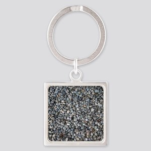 PEBBLE BEACH Square Keychain